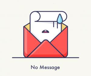 L'absence de message signifie peut-être que votre ex ne pense plus à vous