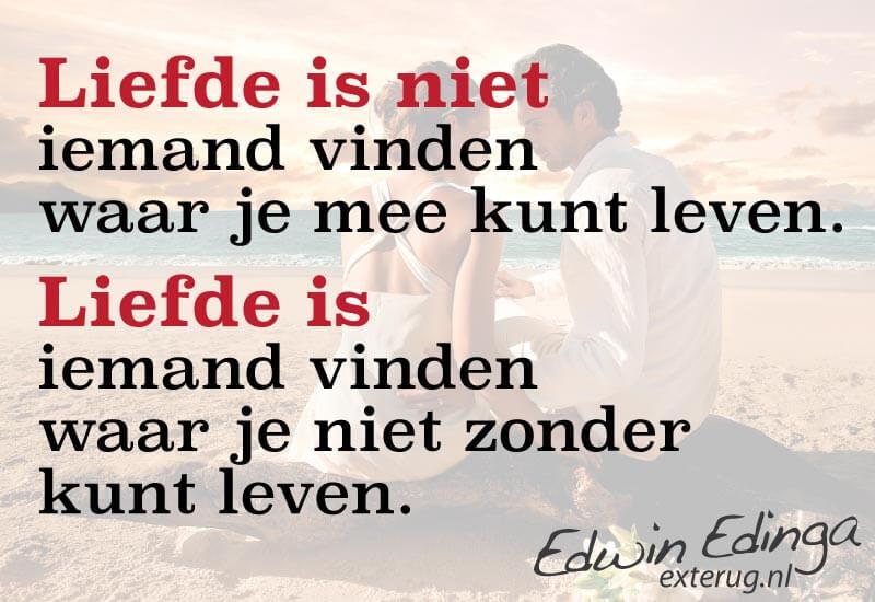 liefde quote