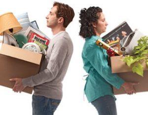 Après un divorce, le mariage est dissous, et tous les biens doivent être partagés