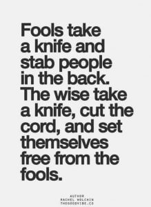 Rache wird deine Wut verstärken Spruch